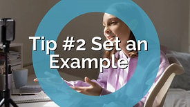 Teens and Social Media-Parenting Tip #2 Set an Example