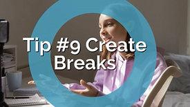 Teens and Social Media-Parenting Tip #9 Create Breaks