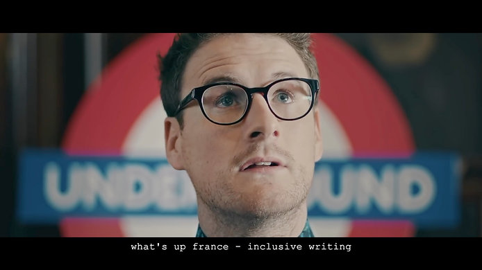 what's up france - inclusive writing