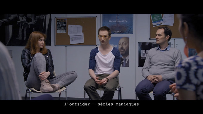 l'outsider - series maniaques