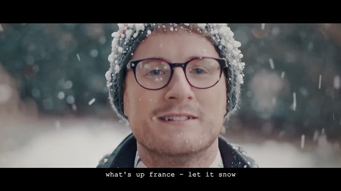 what's up france - let it snow