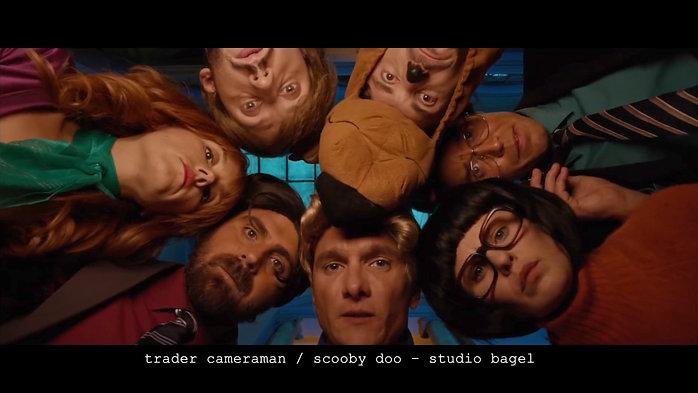 trader cameraman - scooby doo