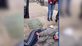 NJ MAN LEAPS TO HIS EXTEME PAIN, LANDS ON BMW
