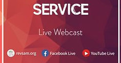 Weekly Service LIVE NOW!