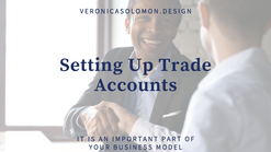 Setting Up Trade Accounts