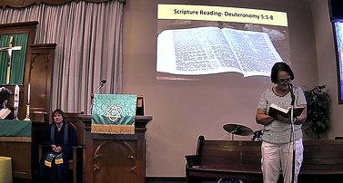 Scripture || Deuteronomy 5:1-8