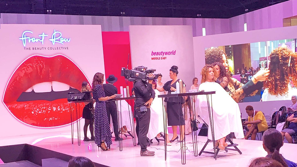 Front Row Stage at Beautyworld