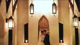 Hayden + Bryan's Candlelit Military Wedding Film - Austin, TX   Chapel Dulcinea