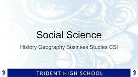 LEVEL 1 SOCIAL SCIENCES