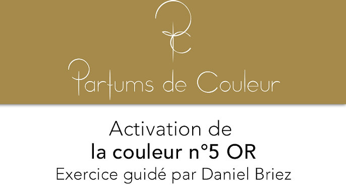 Activation de la couleur n°5 OR