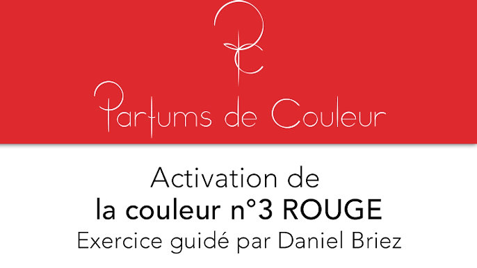 Activation de la couleur n°3 ROUGE