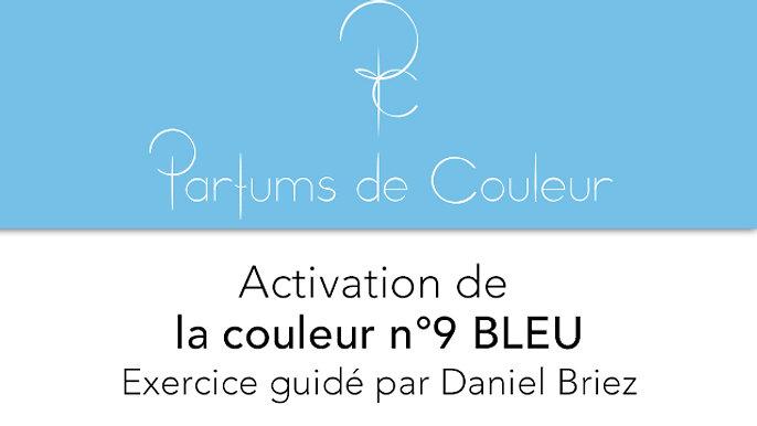 Activation de la couleur n°9 BLEU