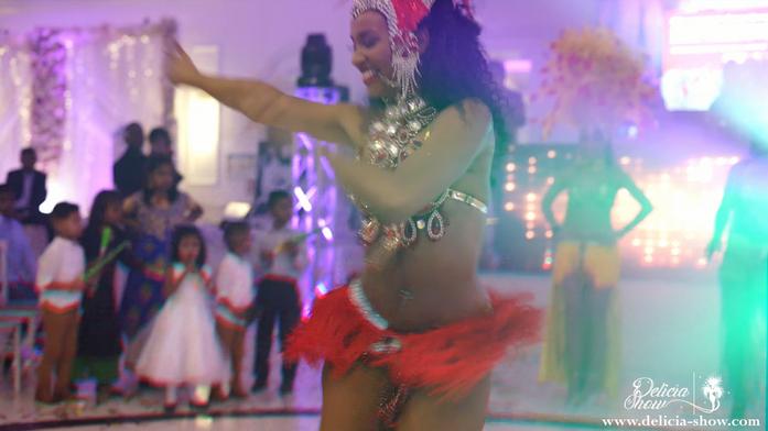 Spectacle de danses brésiliennes