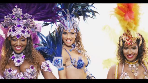 Danseuses brésiliennes pour le clip de Camro - On danse pas nous ft. LECK