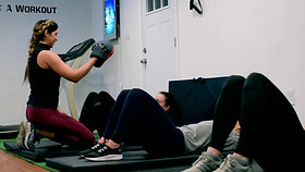 """Mayra, Victoria and Bianca- """"Sophia's workouts are fun and gave us a lifelong friendship!"""""""