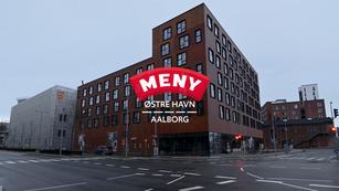 Parkering hos Meny på Østre Havn