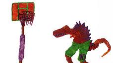 Динозавры и спорт!