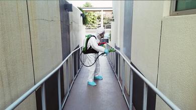 Disinfecting Covid-19@ Condominium