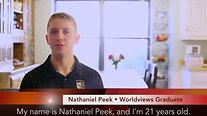 Worldviews Graduates: Nathaniel Peek