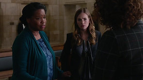 FOR THE PEOPLE:  Joy DeMichelle, Anna Deavere Smith and Britt Robertson