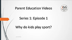 Why do kids play sport? S1, Ep1