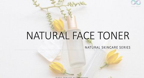 Natural Face Toner Class