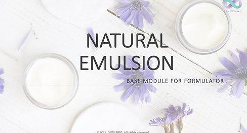 Natural Emulsion Class