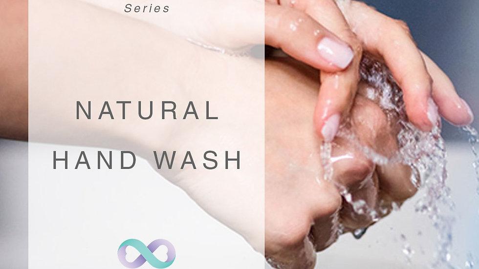 Natural Hand Wash Tutorial