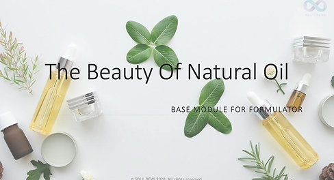 Beauty Natural Oils Self Paced