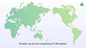 SPRING JAPAN_外国人パイロット採用ピッチ動画