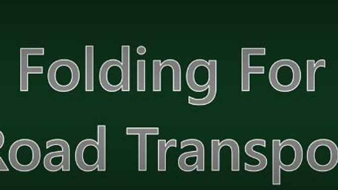 Folding For Road