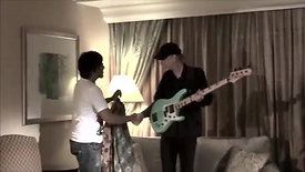 BILLY SHEEHAN OF MR BIG PHOTO SESSION AT JAKARTA INDONESIA