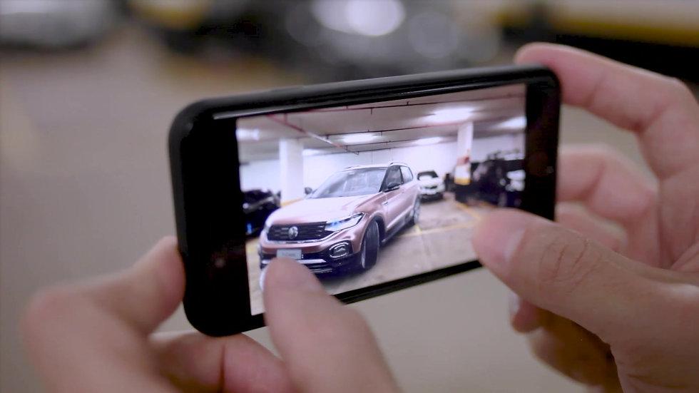 Volkswagen T-Cross AR App