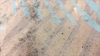 Heat treated fabric process