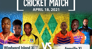 APL Fundraiser Cricket Match - Windward Island X1 vs. Anguilla X1