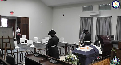 Official Viewing @ The Parliamentary Building For the Late Hon. Hubert Benjamin Hughes