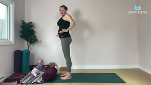 Mindful Movement into the Hips