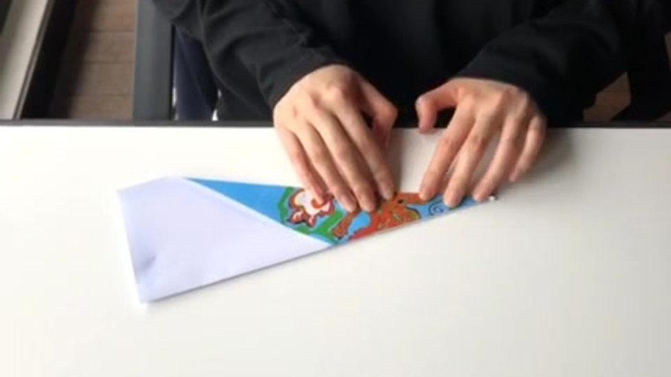 折纸飞机示范