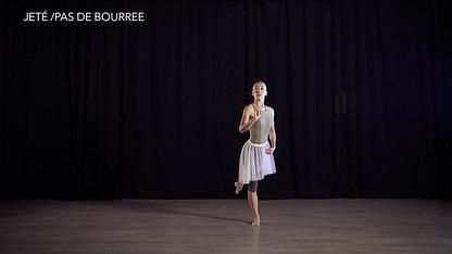 Lesson 1.2 Jete' / Pas De' Bourree