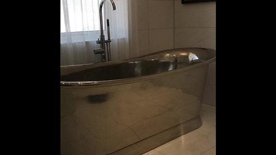 #5 Concealed wet room shower trap