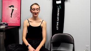 "Meet the Dancers: Natalie - Charm City Ballet presents ""A Christmas Carol"""