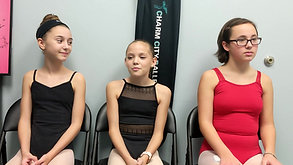 "Meet the Dancers: Olivia, Lilli, and Emily - Charm City Ballet's ""A Christmas Carol"""