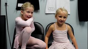 "Meet the Dancers: Ava and Scarlett - Charm City Ballet's ""A Christmas Carol"""