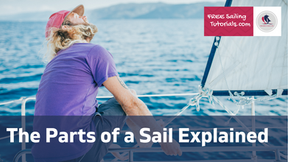 What are the parts of a sail called?