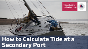How to calculate tidal heights at secondary ports