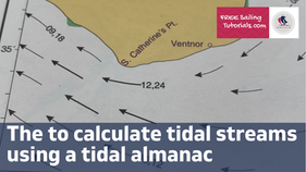 How to calculate tidal streams using a tidal atlas