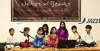 Singing carnatic classical young kids ramajanardhana