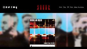 RUN iN RED Website 2020 scroll through