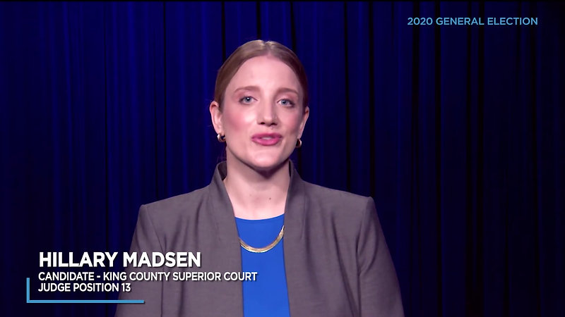 Hillary Madsen candidate for King Co Superior Court Judge Pos. 13 - 2020 Video Voters Guide_1080p