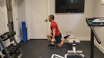 DB Split Squat